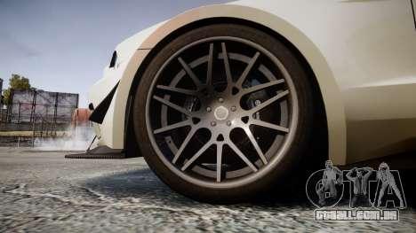 Ford Mustang GT 2014 Custom Kit PJ4 para GTA 4 vista de volta