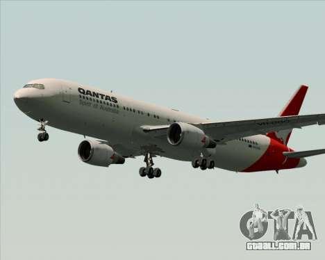 Boeing 767-300ER Qantas (Old Colors) para as rodas de GTA San Andreas