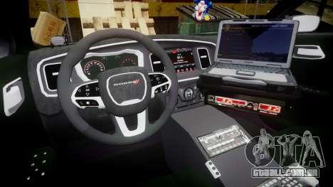 Dodge Charger 2015 City of Liberty [ELS] para GTA 4 vista de volta