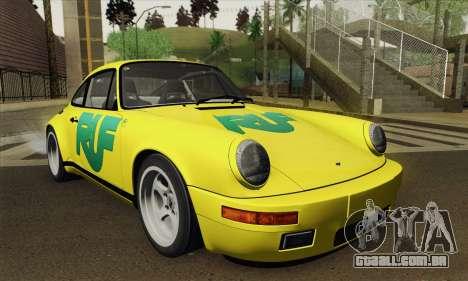 RUF CTR Yellowbird 1987 Tunable para GTA San Andreas vista direita