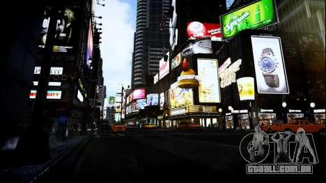 FaveENB para GTA 4 quinto tela