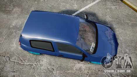 Renault Clio Mio 2014 para GTA 4 vista direita