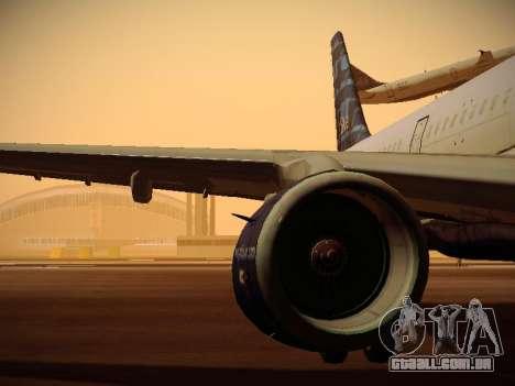 Airbus A321-232 jetBlue Whole Lotta Blue para as rodas de GTA San Andreas