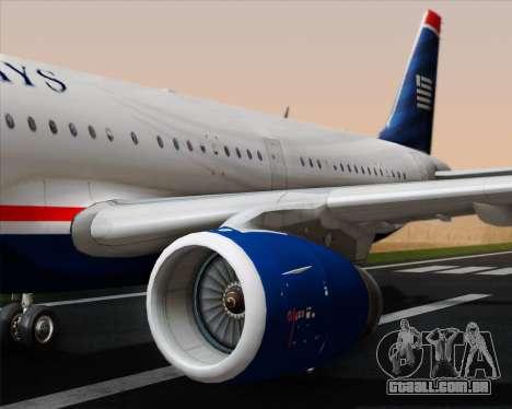 Airbus A321-200 US Airways para o motor de GTA San Andreas