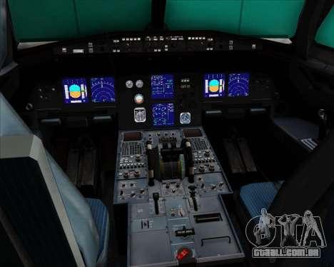Airbus A321-200 Lufthansa para GTA San Andreas interior