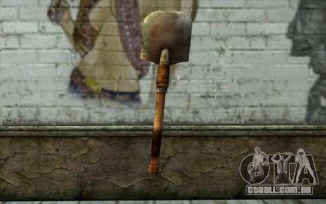 Pá Sapper (Battlefield: Vietnam) para GTA San Andreas segunda tela