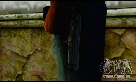 Beretta M9 para GTA San Andreas terceira tela