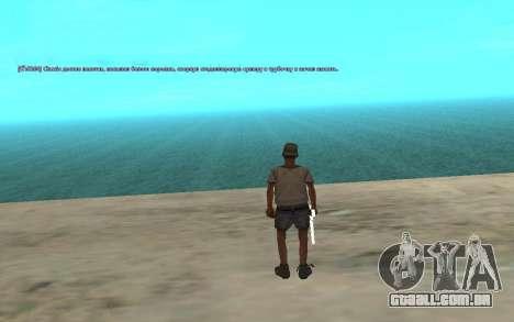 O uso automático de drogas para GTA San Andreas terceira tela