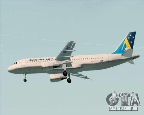Airbus A320-200 Ansett Australia para o motor de GTA San Andreas