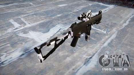 Arma UMP45 Sibéria para GTA 4 segundo screenshot