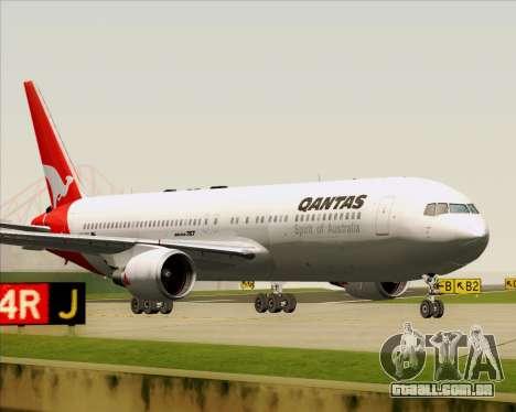Boeing 767-300ER Qantas (Old Colors) para GTA San Andreas esquerda vista