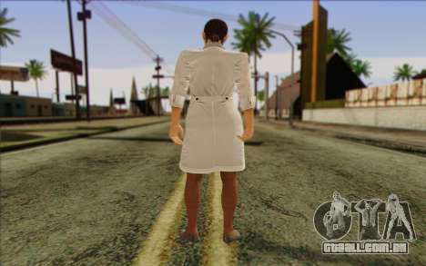 Metal Gear Solid 4 Naomi Hunter para GTA San Andreas segunda tela