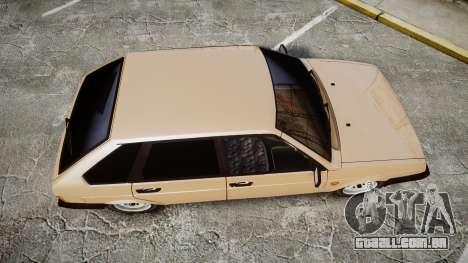 VAZ-2109 BRAÇO para GTA 4 vista direita