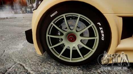 Gumpert Apollo S 2011 para GTA 4 vista de volta