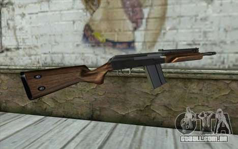 Saiga (Armas De Fogo) para GTA San Andreas segunda tela
