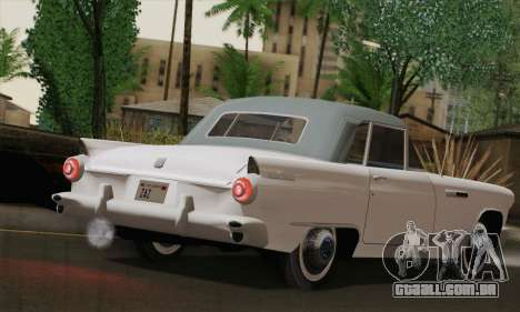 Smith Thunderbolt from Mafia 2 para GTA San Andreas traseira esquerda vista