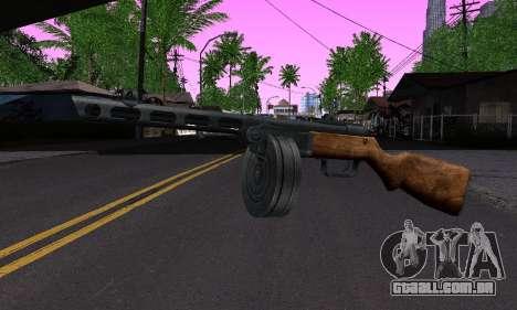 Arma Shpagina para GTA San Andreas