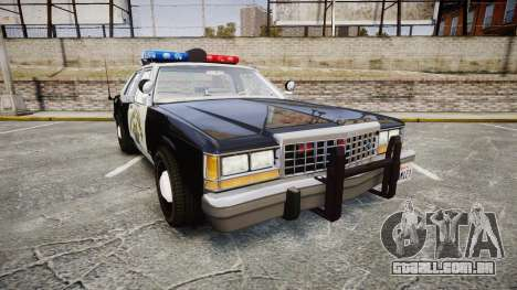 Ford LTD Crown Victoria 1987 Police CHP1 [ELS] para GTA 4