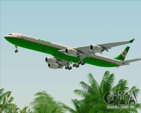 Airbus A340-600 EVA Air para GTA San Andreas
