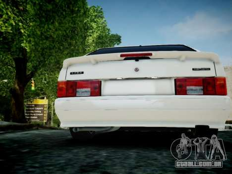 VAZ 2114 para GTA 4 vista de volta