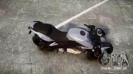 Bajaj Pulsar 200NS 2012 para GTA 4 vista direita
