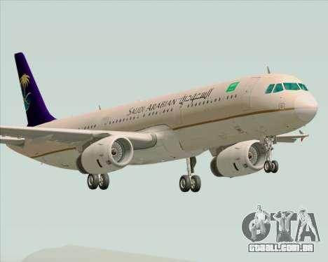 Airbus A321-200 Saudi Arabian Airlines para GTA San Andreas