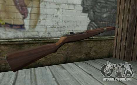 M1 Garand from Day of Defeat para GTA San Andreas segunda tela