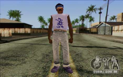 Haitian from GTA Vice City Skin 2 para GTA San Andreas