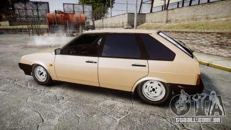 VAZ-2109 BRAÇO para GTA 4 esquerda vista