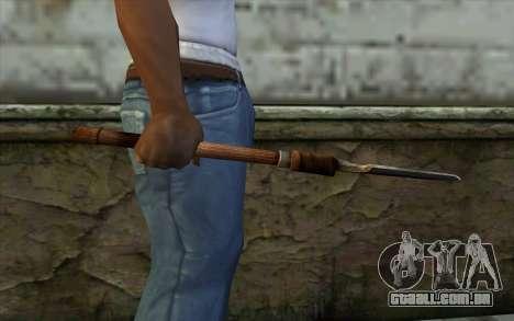 Pá Sapper (Battlefield: Vietnam) para GTA San Andreas terceira tela