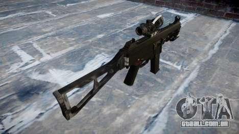 Arma UMP45 Kryptek Lutas para GTA 4 segundo screenshot