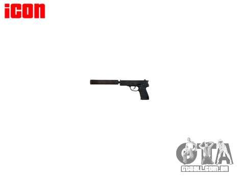 Arma QSZ-92 silenciador para GTA 4 terceira tela