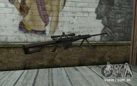 M107 para GTA San Andreas segunda tela