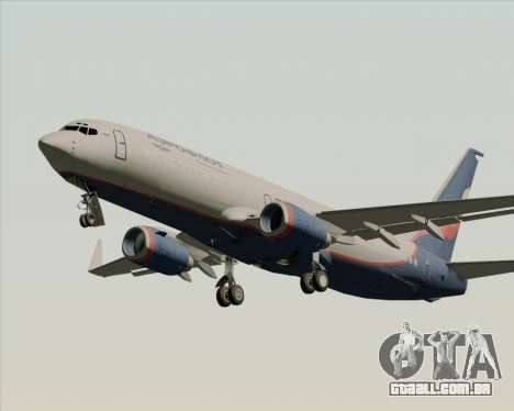 Boeing 737-8LJ Aeroflot - Russian Airlines para as rodas de GTA San Andreas
