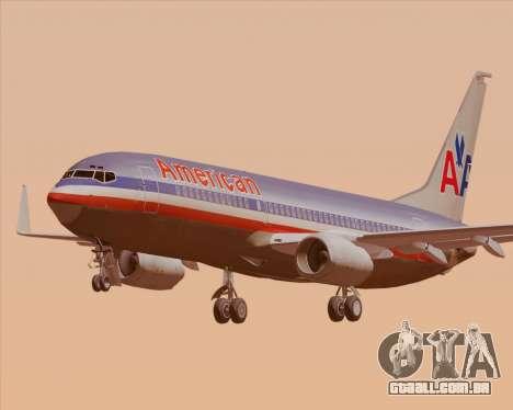 Boeing 737-800 American Airlines para GTA San Andreas