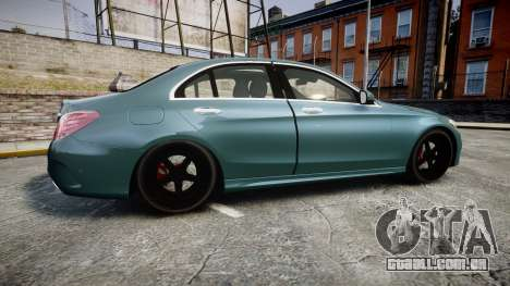 Mercedes-Benz C250 para GTA 4 esquerda vista