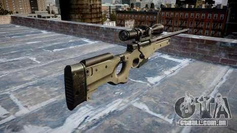 Rifle de precisão L96A1 Magnum para GTA 4 segundo screenshot