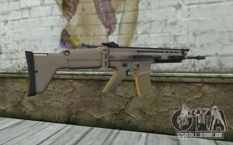 MK 16 SCAR para GTA San Andreas segunda tela