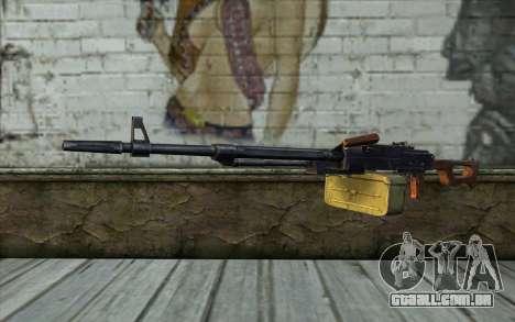 A Metralhadora Kalashnikov Modernizado para GTA San Andreas