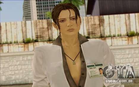 Metal Gear Solid 4 Naomi Hunter para GTA San Andreas terceira tela