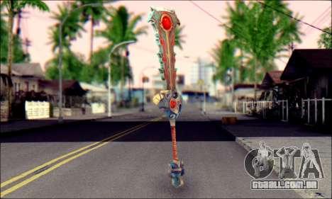 Меч (World Of Warcraft) v2 para GTA San Andreas
