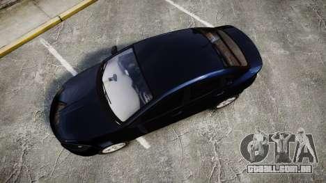 Dodge Dart 2013 Undercover [ELS] para GTA 4 vista direita