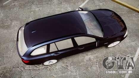 BMW 530d F11 Unmarked Police [ELS] para GTA 4 vista direita
