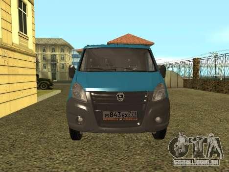 Gazela Seguinte para GTA San Andreas vista direita