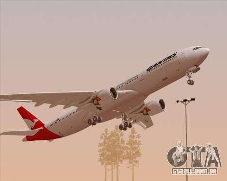 Airbus A330-300 Qantas (New Colors) para GTA San Andreas