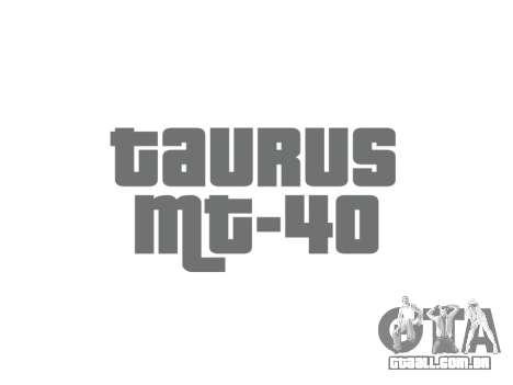 Arma da Taurus MT-40 buttstock2 icon1 para GTA 4 terceira tela