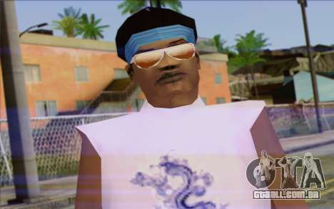 Haitian from GTA Vice City Skin 2 para GTA San Andreas terceira tela