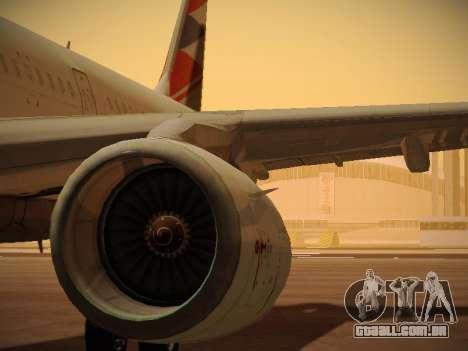 Airbus A321-232 Czech Airlines para o motor de GTA San Andreas
