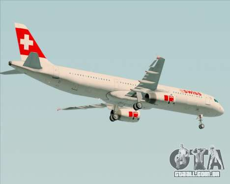 Airbus A321-200 Swiss International Air Lines para GTA San Andreas vista direita