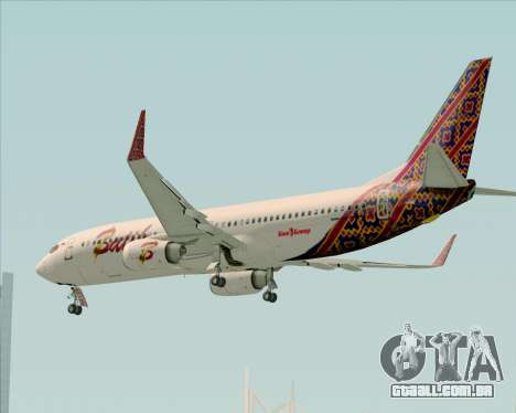 Boeing 737-800 Batik Air para GTA San Andreas interior